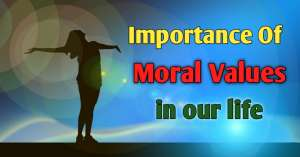 Read more about the article Importance of Moral Values in our life