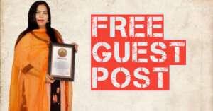 Read more about the article Free Guest Post sites के लिए सब आमंत्रित है हमारी वेबसाइट पर