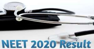 Read more about the article NEET 2020 Result date : नयी तारीख का हुआ ऐलान, 16 October को आएगा रिजल्ट